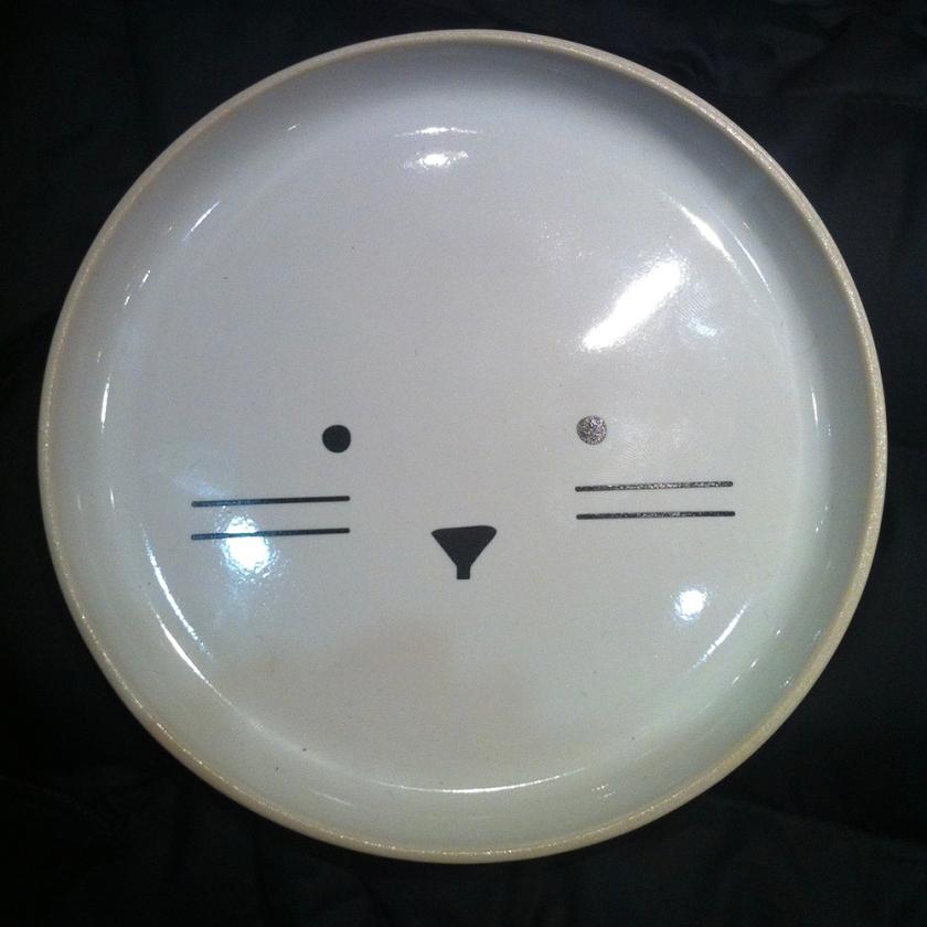 cute face ceramic