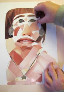 Virginie Egger - ateliers de collage pour enfants