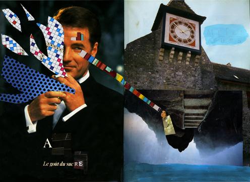 Virginie Egger - collages